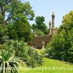 Отдых в Алупке в  Воронцовском парке