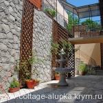 Алупка двор коттедж Изюминка